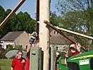 Maibaum aufstellen 2009_65