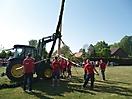 Maibaum aufstellen 2009_69