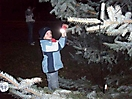 Weihnachtsbaum aufstellen 2008_55