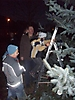 Weihnachtsbaum aufstellen 2008_62