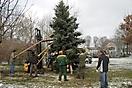 Weihnachtsbaum aufstellen 2010_19