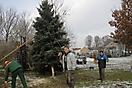 Weihnachtsbaum aufstellen 2010_20